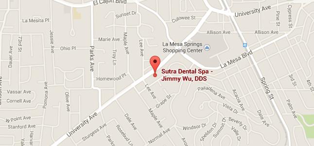 Contact Sutra Dental Spa La Mesa San Diego CA