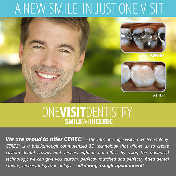 What are the Differences Between CEREC and Lab Made Dental